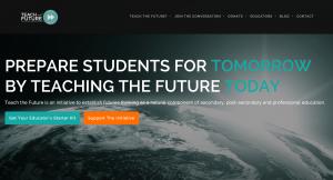 Teach the Future Site Strategy